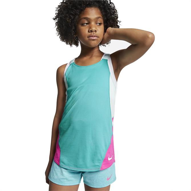 Nike Kid's Dri-FIT Training Tank Top - Cabana